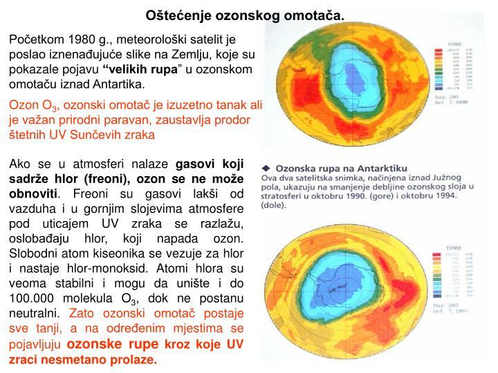Oštećenje ozonskog omotača