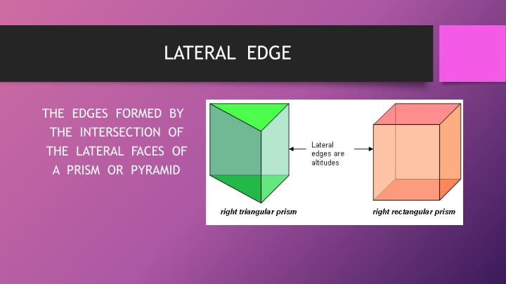 LATERAL  EDGE