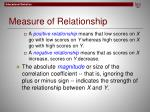 measure of relationship2