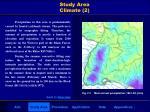 study area climate 2