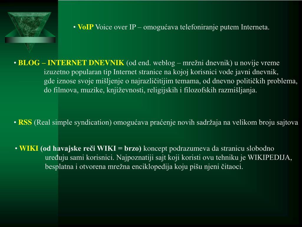 Besplatni sajtovi za upoznavanje srbija wikipedia
