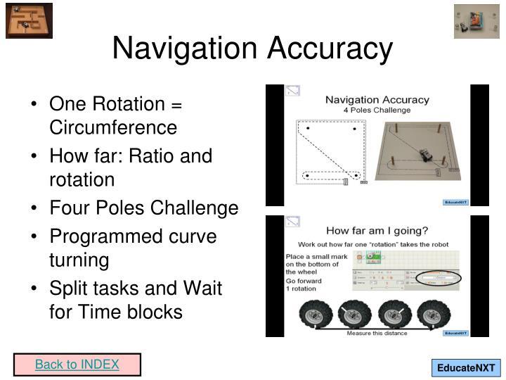Navigation Accuracy