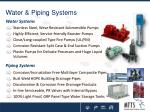 water piping systems