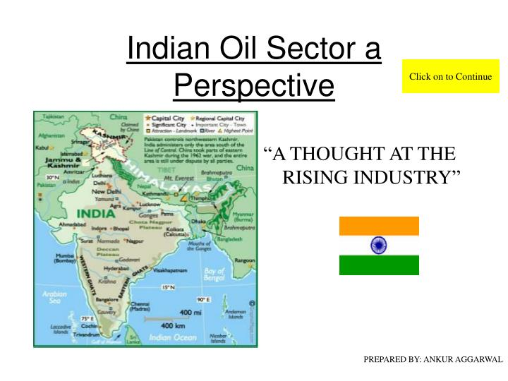 indian oil sector a perspective n.