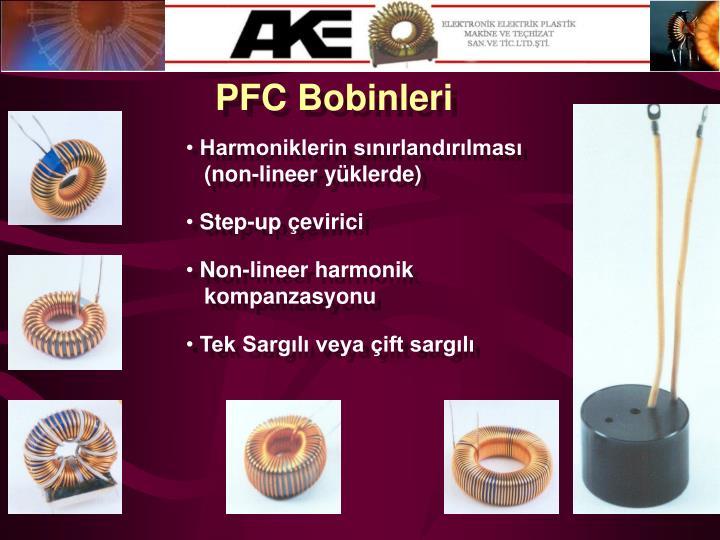PFC Bobinleri