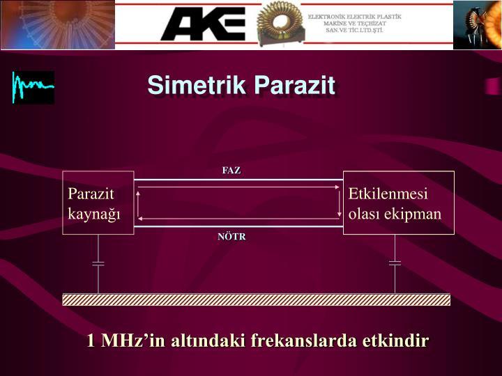 Simetrik Parazit