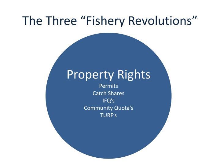 "The Three ""Fishery Revolutions"""