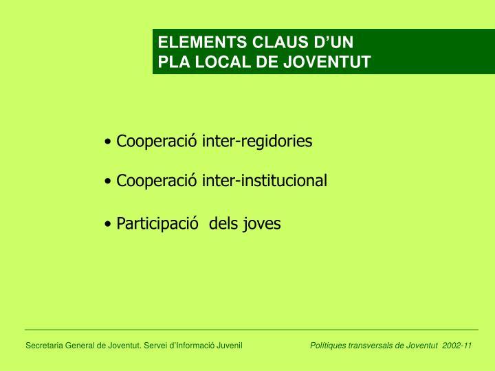 ELEMENTS CLAUS D'UN