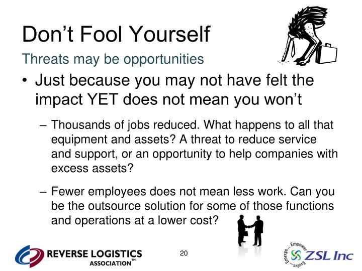 Don't Fool Yourself