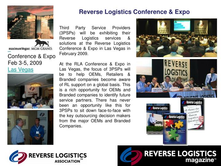 Reverse Logistics Conference & Expo