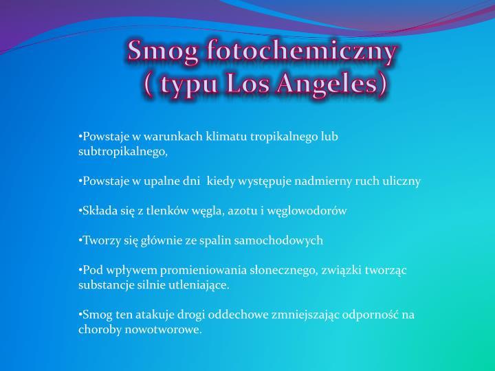 Smog fotochemiczny