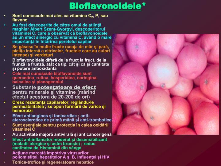 Bioflavonoidele