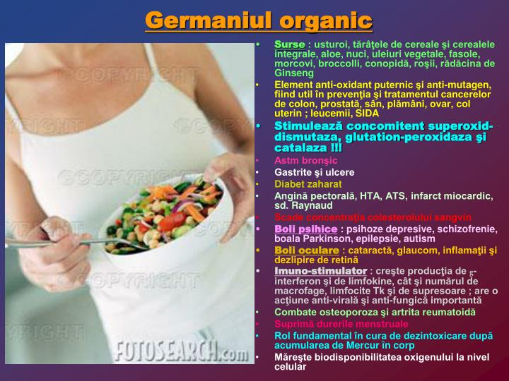 Germaniul organic