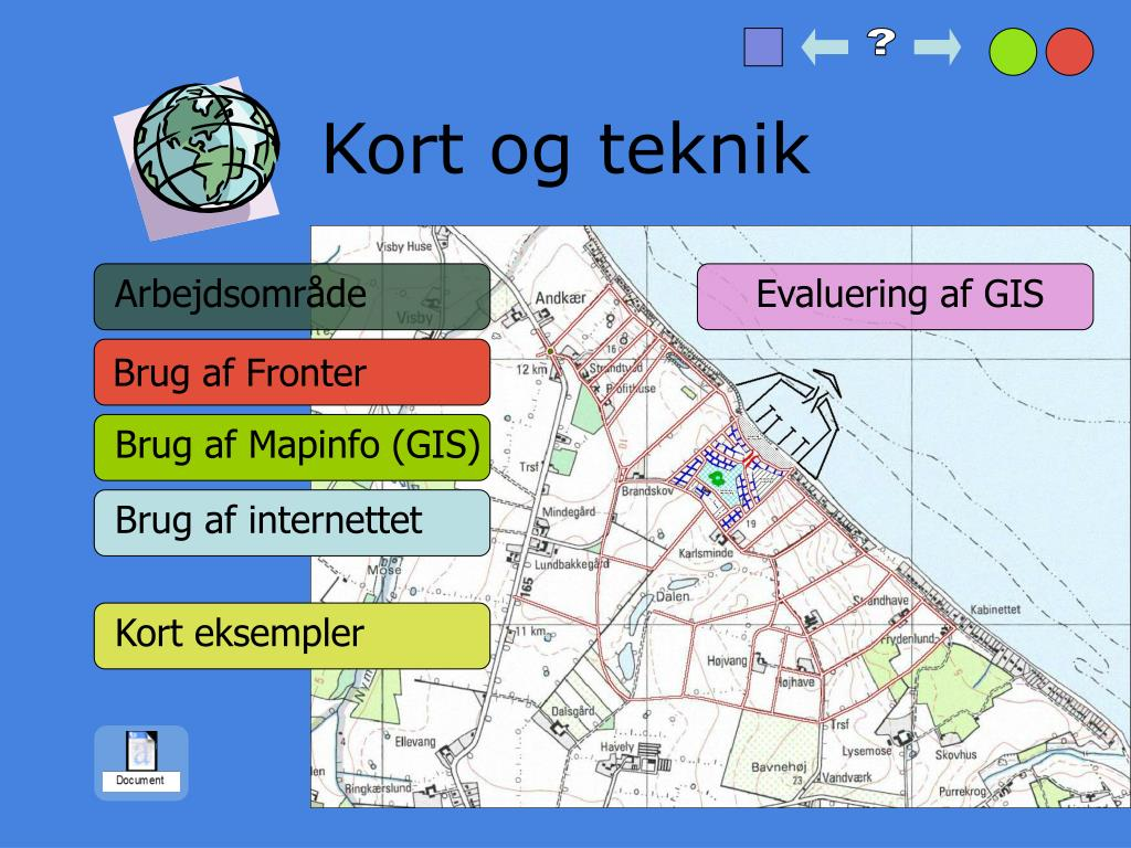 Ppt Omradeplanlaegnings Projekt I Geografi Powerpoint