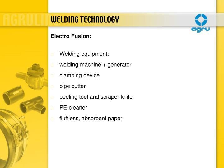 Welding equipment: