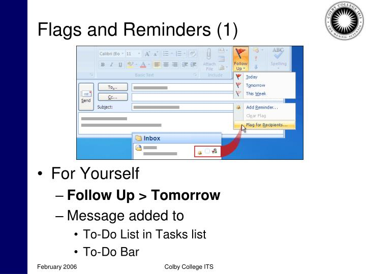 Flags and Reminders (1)