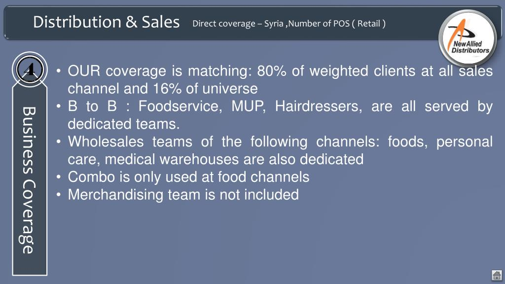 PPT - New Allied Distributors PowerPoint Presentation - ID:4986879