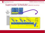 superscalar scheduler detail of one entry