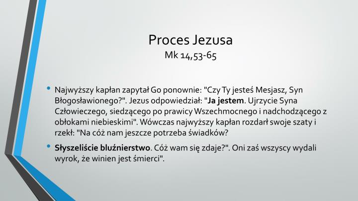 Proces Jezusa