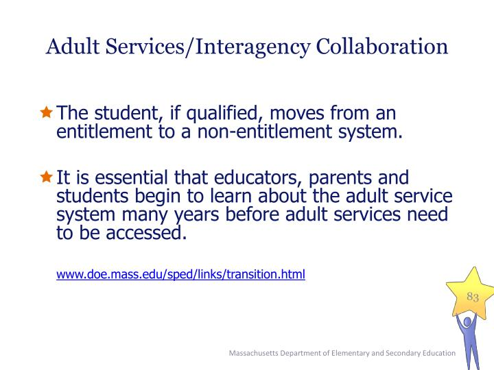 Adult Services/Interagency Collaboration