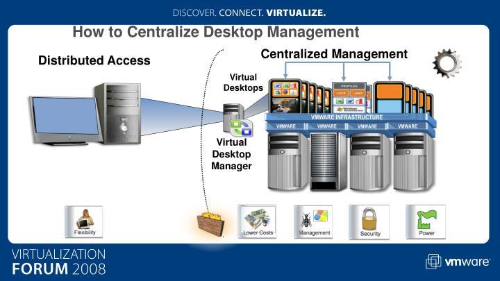 How to Centralize Desktop Management
