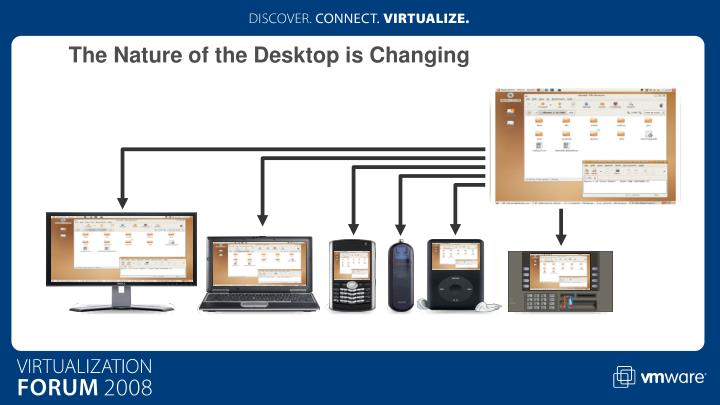 The Nature of the Desktop is Changing