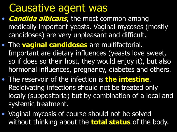 Causative agent was