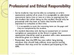 professional and ethical responsibility3