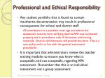 professional and ethical responsibility5