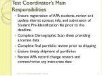 test coordinator s main responsibilities2