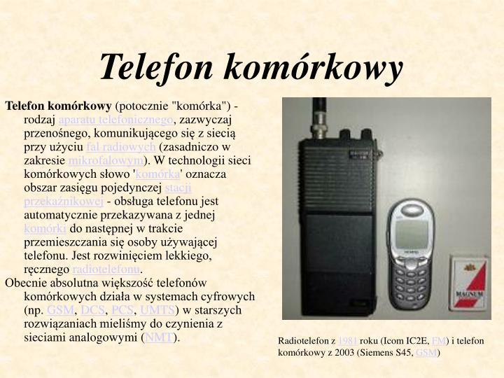 Telefon kom rkowy