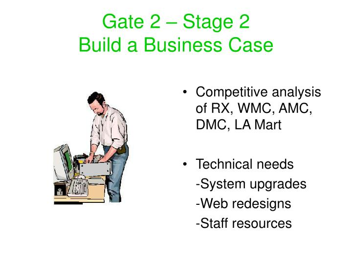 Gate 2 – Stage 2