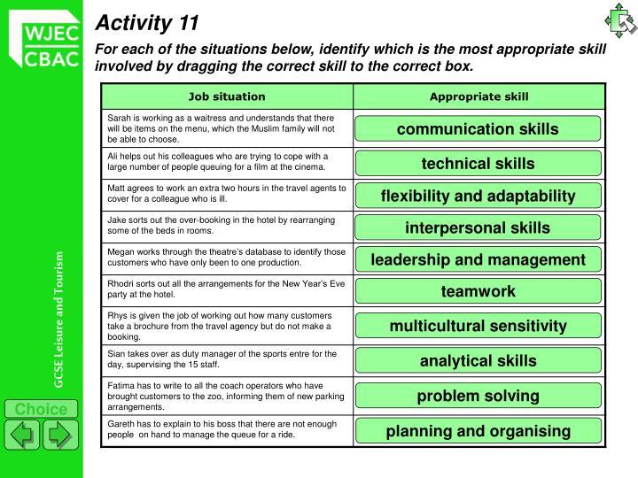 Activity 11