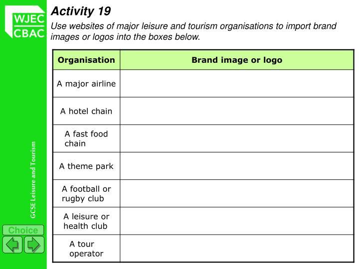 Activity 19