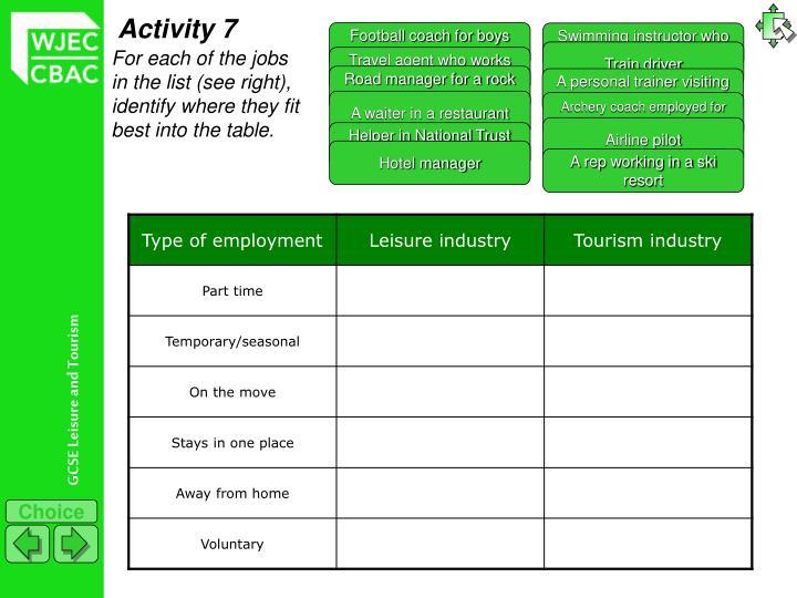 Activity 7