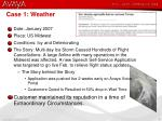 case 1 weather