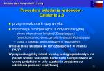 procedura sk adania wniosk w dzia anie 2 3