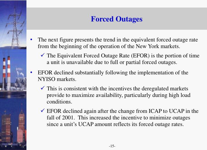 Forced Outages