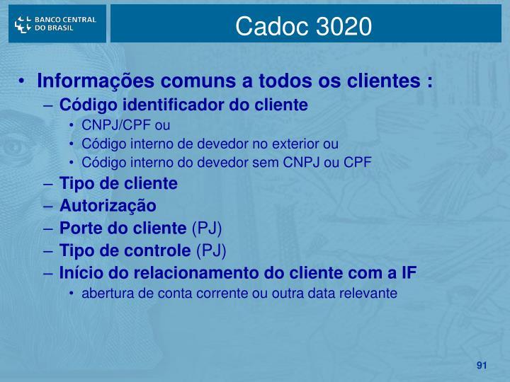 Cadoc 3020