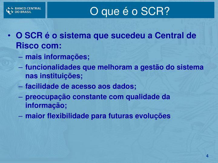 O que é o SCR?