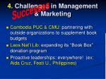 4 challenges in management marketing5