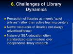 6 challenges of library dynamics1
