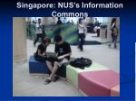 singapore nus s information commons