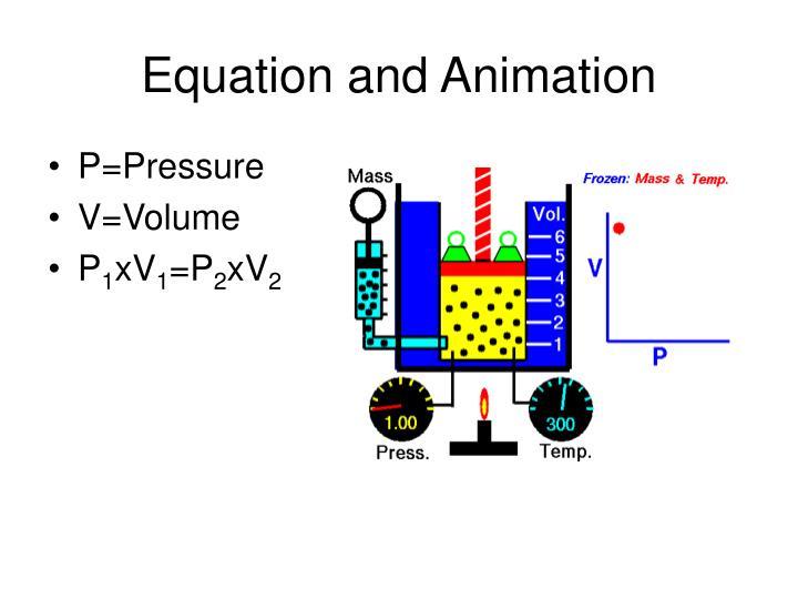 Equation and Animation