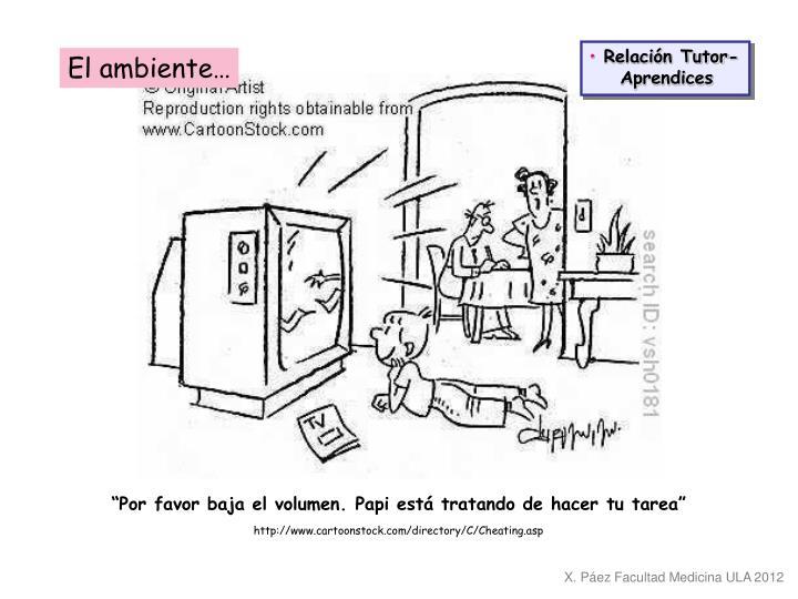 Relación Tutor-