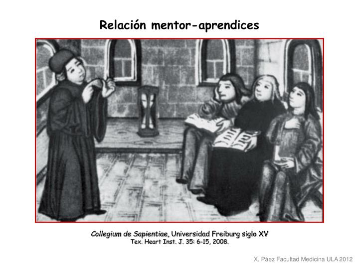 Relación mentor-aprendices