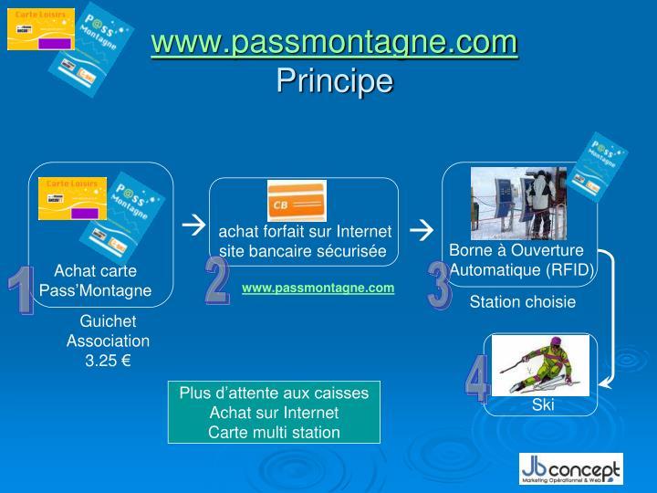 Www passmontagne com principe