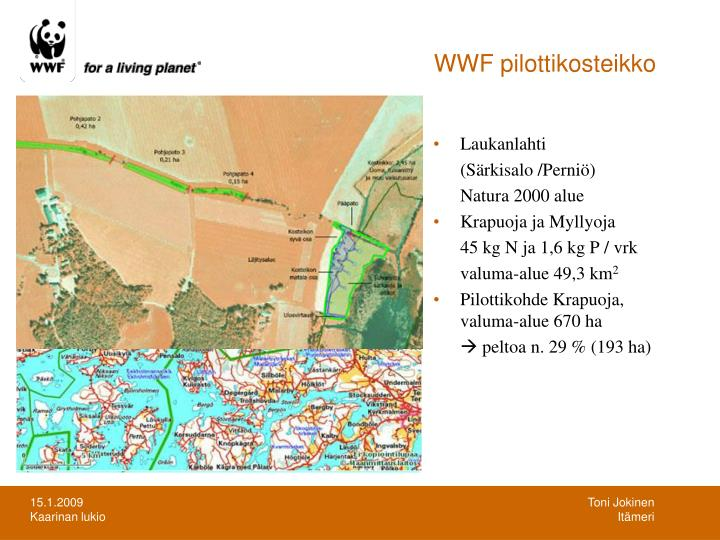 WWF pilottikosteikko