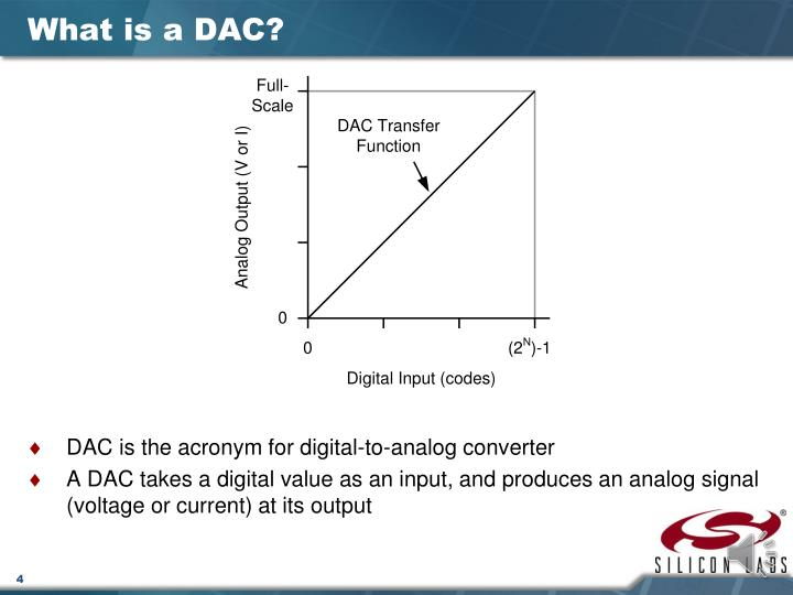 What is a DAC?
