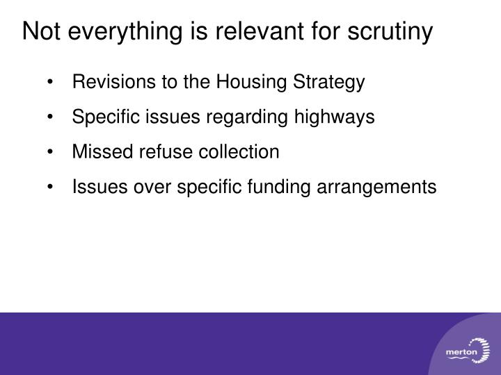 Revisions to the Housing Strategy